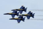 zettaishinさんが、クオンセット・ステート空港で撮影したアメリカ海軍 F/A-18C Hornetの航空フォト(写真)