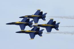 zettaishinさんが、クオンセット・ステート空港で撮影したアメリカ海軍 F/A-18C Hornetの航空フォト(飛行機 写真・画像)