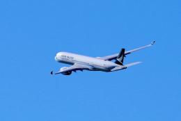 yabyanさんが、中部国際空港で撮影したキャセイパシフィック航空 A350-941の航空フォト(飛行機 写真・画像)