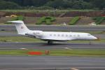 シュウさんが、成田国際空港で撮影した金鹿航空 G650 (G-VI)の航空フォト(写真)