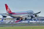 パンダさんが、成田国際空港で撮影したカーゴルクス 747-8R7F/SCDの航空フォト(写真)