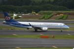 シュウさんが、成田国際空港で撮影したマンダリン航空 ERJ-190-100 IGW (ERJ-190AR)の航空フォト(写真)