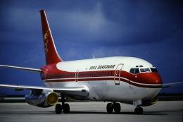 鯉ッチさんが、那覇空港で撮影した香港ドラゴン航空 737-2L9/Advの航空フォト(飛行機 写真・画像)