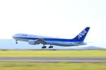 Sugikiyoさんが、岡山空港で撮影した全日空 767-381/ERの航空フォト(写真)