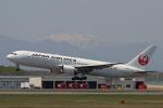 funi9280さんが、新千歳空港で撮影した日本航空 767-346/ERの航空フォト(写真)