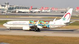 アタテュルク国際空港 - Ataturk International Airport [IST/LTBA]で撮影されたロイヤル・エア・モロッコ - Royal Air Maroc [AT/RAM]の航空機写真