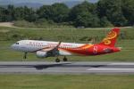 だいまる。さんが、岡山空港で撮影した香港航空 A320-214の航空フォト(写真)