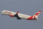 キイロイトリさんが、関西国際空港で撮影したエア・カナダ・ルージュ 767-333/ERの航空フォト(写真)