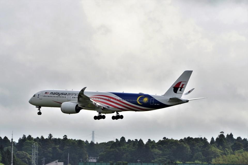 T.Sazenさんのマレーシア航空 Airbus A350-900 (9M-MAC) 航空フォト