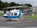 ミルハスさんが、東北某所で撮影したヘリサービス 206B-3 JetRanger IIIの航空フォト(写真)