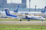 ちゃぽんさんが、成田国際空港で撮影したANAウイングス DHC-8-402Q Dash 8の航空フォト(飛行機 写真・画像)