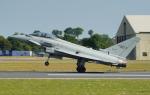 ちゃぽんさんが、フェアフォード空軍基地で撮影したイタリア空軍 EF-2000 Typhoonの航空フォト(飛行機 写真・画像)