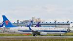 パンダさんが、成田国際空港で撮影した上海航空 737-86Dの航空フォト(写真)