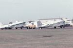 ノビタ君さんが、立川飛行場で撮影したアメリカ空軍 C-47A Skytrainの航空フォト(写真)