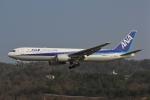 だいまる。さんが、岡山空港で撮影した全日空 767-381/ERの航空フォト(写真)