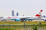SGR RT 改さんが、成田国際空港で撮影したオーストリア航空 777-2Z9/ERの航空フォト(写真)