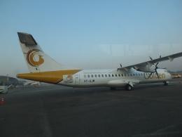 CH_VNさんが、ヤンゴン国際空港で撮影したゴールデン・ミャンマー・エアラインズ ATR-72-600の航空フォト(飛行機 写真・画像)