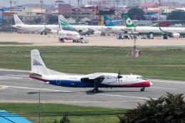 xingyeさんが、プノンペン国際空港で撮影したカンボジア・バイヨン・エアラインズ MA60の航空フォト(飛行機 写真・画像)