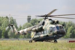 ちゅういちさんが、キエフ・ジュリャーヌィ国際空港で撮影したウクライナ空軍 Mi-8の航空フォト(飛行機 写真・画像)