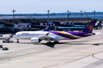 delawakaさんが、中部国際空港で撮影したタイ国際航空 A350-941XWBの航空フォト(写真)