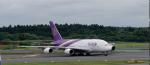nishikiさんが、成田国際空港で撮影したタイ国際航空 A380-841の航空フォト(写真)