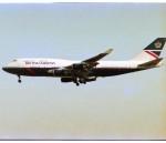 エルさんが、成田国際空港で撮影したブリティッシュ・エアウェイズ 747-436の航空フォト(写真)