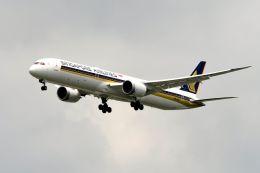 まいけるさんが、スワンナプーム国際空港で撮影したシンガポール航空 787-10の航空フォト(写真)