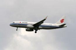 まいけるさんが、スワンナプーム国際空港で撮影した中国国際航空 A320-232の航空フォト(写真)