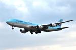 saoya_saodakeさんが、成田国際空港で撮影した大韓航空 747-8B5F/SCDの航空フォト(写真)