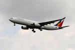 まいけるさんが、スワンナプーム国際空港で撮影したフィリピン航空 A330-343Eの航空フォト(写真)
