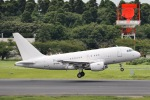 KIXBASE kazuさんが、成田国際空港で撮影したケイマン諸島企業所有 A318-112 CJ Eliteの航空フォト(写真)