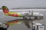kinsanさんが、函館空港で撮影したエアーニッポンネットワーク DHC-8-314Q Dash 8の航空フォト(写真)
