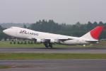 kinsanさんが、成田国際空港で撮影した日本航空 747-246F/SCDの航空フォト(写真)