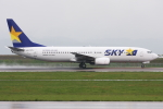 kinsanさんが、旭川空港で撮影したスカイマーク 737-8HXの航空フォト(写真)