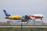 やまけんさんが、羽田空港で撮影した全日空 777-281/ERの航空フォト(写真)