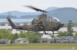 はれ747さんが、旭川駐屯地で撮影した陸上自衛隊 AH-1Sの航空フォト(写真)