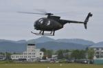 はれ747さんが、旭川駐屯地で撮影した陸上自衛隊 OH-6Dの航空フォト(写真)