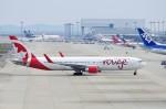 mild lifeさんが、関西国際空港で撮影したエア・カナダ・ルージュ 767-33A/ERの航空フォト(写真)