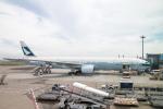 Y-Kenzoさんが、羽田空港で撮影したキャセイパシフィック航空 777-367の航空フォト(写真)