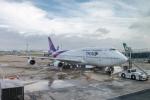 Y-Kenzoさんが、羽田空港で撮影したタイ国際航空 747-4D7の航空フォト(写真)