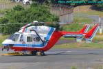 いおりさんが、山口宇部空港で撮影した山口県消防防災航空隊 BK117C-1の航空フォト(写真)
