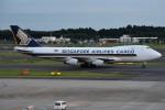 shimashimaさんが、成田国際空港で撮影したシンガポール航空カーゴ 747-412F/SCDの航空フォト(写真)