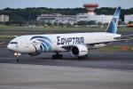 shimashimaさんが、成田国際空港で撮影したエジプト航空 777-36N/ERの航空フォト(写真)
