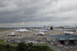 木人さんが、成田国際空港で撮影した日本貨物航空 747-8KZF/SCDの航空フォト(写真)