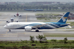 planetさんが、スワンナプーム国際空港で撮影したオマーン航空 787-8 Dreamlinerの航空フォト(飛行機 写真・画像)