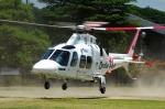 SAMBAR-2463さんが、新潟県見附市(場外)で撮影した静岡エアコミュータ AW109SP GrandNewの航空フォト(写真)
