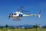 SAMBAR-2463さんが、新潟県三条市(場外)で撮影した中日本航空 AS350B3 Ecureuilの航空フォト(写真)