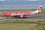 @たかひろさんが、関西国際空港で撮影したエアアジア・エックス A330-343Eの航空フォト(写真)