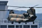 ワイエスさんが、熊本空港で撮影した陸上自衛隊 CH-47JAの航空フォト(写真)