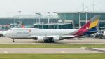 coolinsjpさんが、仁川国際空港で撮影したアシアナ航空 747-48Eの航空フォト(写真)